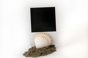 Polaroid mockup for the memory of...