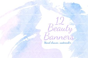 12 Beauty banners