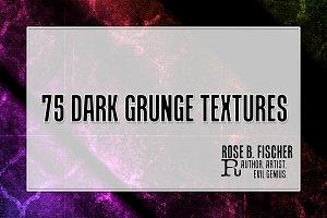 75 Dark Grunge Textures