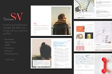 Sawyer - Personal Resume & Portfolio by The Fireworks Police in Bootstrap