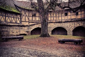 Medieval Square in Regensburg