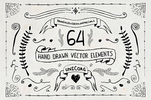 Hand Drawn Vector Elements Pt1