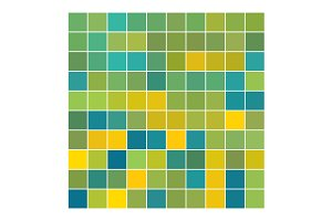Vector Color Squares Yellow Green
