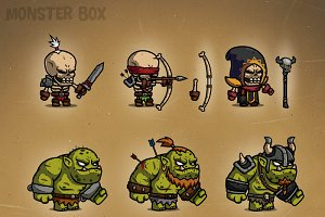 Monster Cartoon Characters RPG 1