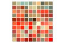 Vector Color Pattern Brown Orange