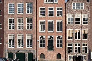 Waterfront Houses in Amsterdam