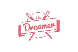 The dreamer - Logotype -Handmade