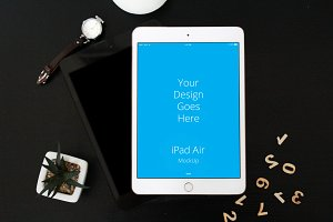 Apple iPad Display Mock-up#46