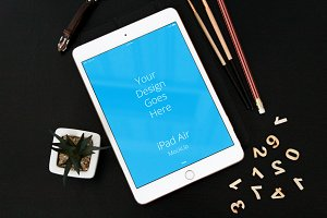 Apple iPad Display Mock-up#47