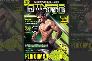 (PriceDrop)Performance Fitness Flyer