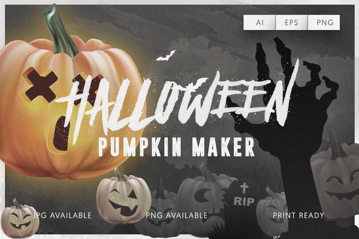 Halloween Pumpkin Maker ~ Illustrations ~ Creative Market