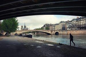 Morning. Paris.