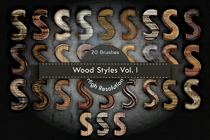 Wood Layer Styles for Photoshop