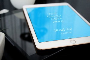 Apple iPad Display Mock-up#51