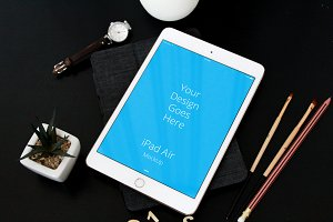 Apple iPad Display Mock-up#54