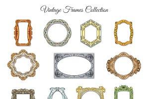 Vintage classic frames