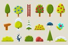 Elements for landscape