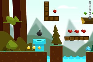 Forest Mountain Game Pack