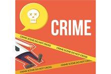 Crime scene. Do not cross