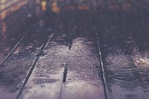 Rainy background