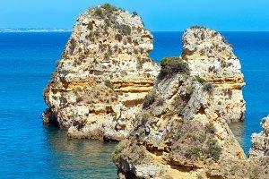 Cliffs near beach (Portugal)