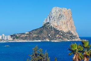Rock of Calpe, Spain.