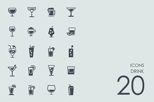 Drink icons + BONUS