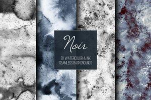 Noir: seamless backgrounds