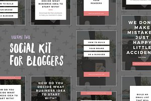 Social Kit for Bloggers - Volume Two