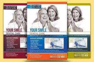 Dental Care Flyer Template