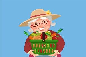 Grandmother farmer
