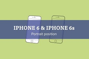 Apple iPhone 6/6s portrait position