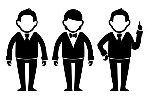 Businessman Icon set