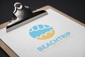 Beach Trip Logo