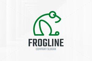 Frog Line Logo Template