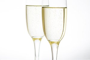 Champagne glass cups