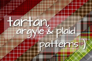 100+ Tartan, Argyle & Plaid Patterns