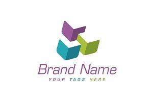 Interlaced Cubes Logo