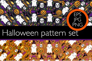 6 seamless pattern set