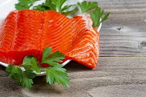 Fresh Red Salmon Fillet