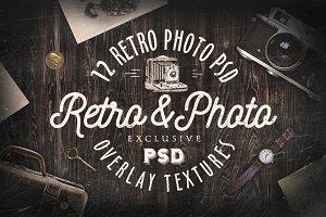 Retro Textures PSD