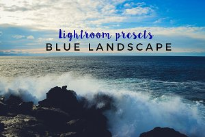 6 Blue landscape - Lightroom presets
