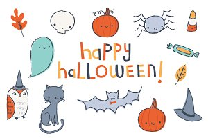 Cute Halloween | Clip Art