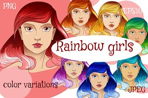 Rainbow girls