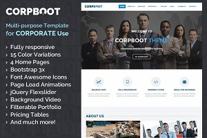 Corpboot - Corporate Bootstrap Theme
