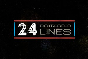 24 Distressed Lines