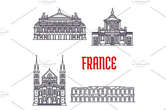 Historic landmarks of France