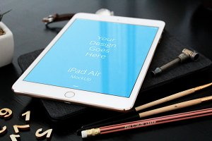 Apple iPad Display Mock-up#57
