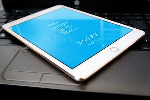 Apple iPad Display Mock-up#68