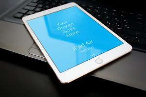 Apple iPad Display Mock-up#69